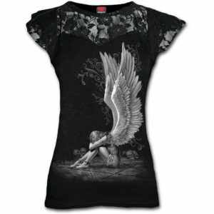 camiseta con tatuajes angel esclavo en Con Tatuajes