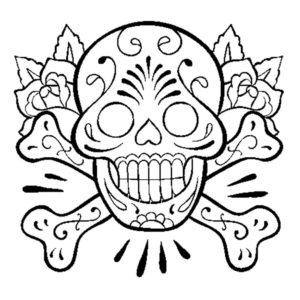Tatuaje de calavera Mexicana en Con Tatuajes